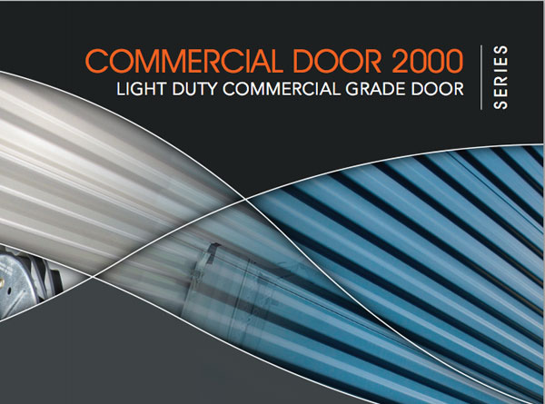 DBCI 2000 Series light-Duty Commercial-Grade Door