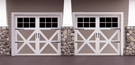 Wayne Dalton Model 9700 Carriage House Garage Doors