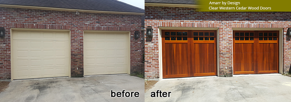 Before And After Pictures Garage Doors Commercial